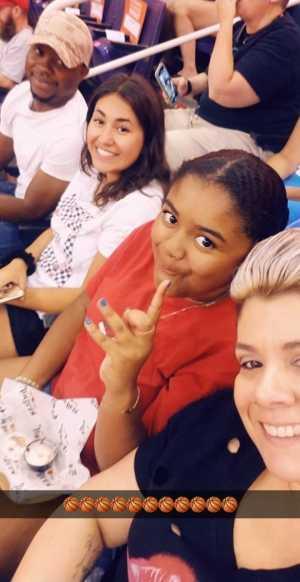 Valentino attended Phoenix Mercury vs. Washington Mystics - WNBA on Aug 4th 2019 via VetTix