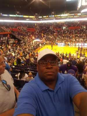 Richard attended Phoenix Mercury vs. Washington Mystics - WNBA on Aug 4th 2019 via VetTix