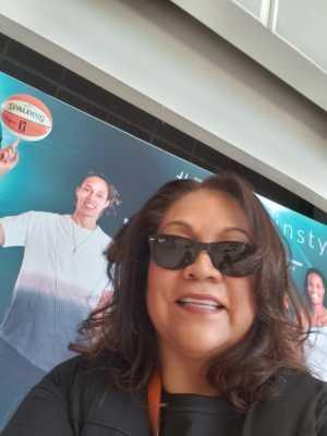 Linda attended Phoenix Mercury vs. Washington Mystics - WNBA on Aug 4th 2019 via VetTix