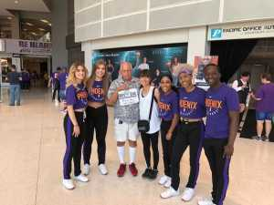 RONALD attended Phoenix Mercury vs. Washington Mystics - WNBA on Aug 4th 2019 via VetTix