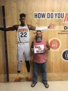 Mark attended Phoenix Mercury vs. Washington Mystics - WNBA on Aug 4th 2019 via VetTix