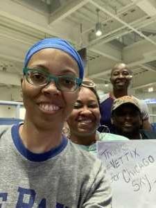 Michelle attended Chicago Sky vs. Las Vegas Aces - WNBA on Aug 18th 2019 via VetTix