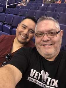 Brian attended Phoenix Mercury vs. Dallas Wings - WNBA on Aug 10th 2019 via VetTix
