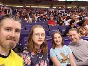 Matthew attended Phoenix Mercury vs. Dallas Wings - WNBA on Aug 10th 2019 via VetTix