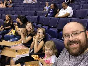 James attended Phoenix Mercury vs. Dallas Wings - WNBA on Aug 10th 2019 via VetTix