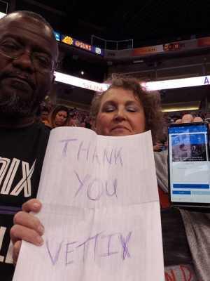 Dempsey attended Phoenix Mercury vs. Dallas Wings - WNBA on Aug 10th 2019 via VetTix