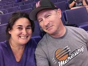 AJ attended Phoenix Mercury vs. Dallas Wings - WNBA on Aug 10th 2019 via VetTix