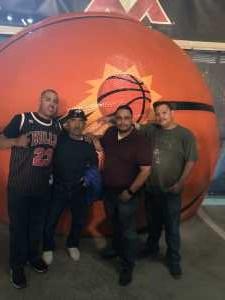 Ramon attended Phoenix Mercury vs. Dallas Wings - WNBA on Aug 10th 2019 via VetTix