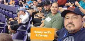Ralph attended Phoenix Mercury vs. Dallas Wings - WNBA on Aug 10th 2019 via VetTix