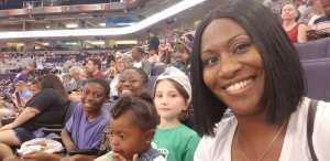 April attended Phoenix Mercury vs. Dallas Wings - WNBA on Aug 10th 2019 via VetTix