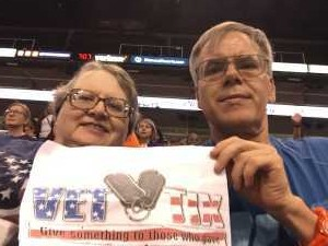 Richard attended Phoenix Mercury vs. Atlanta Dream - WNBA on Aug 16th 2019 via VetTix