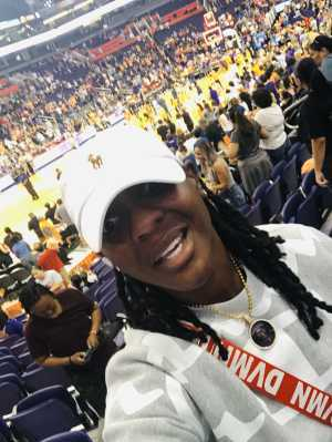 Velvet attended Phoenix Mercury vs. Atlanta Dream - WNBA on Aug 16th 2019 via VetTix