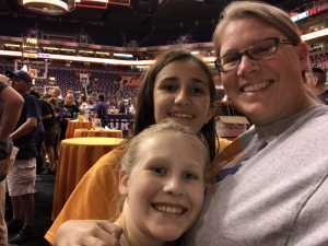 Michelle attended Phoenix Mercury vs. Atlanta Dream - WNBA on Aug 16th 2019 via VetTix