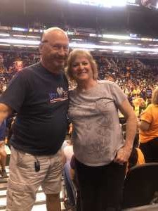 Larry attended Phoenix Mercury vs. Atlanta Dream - WNBA on Aug 16th 2019 via VetTix