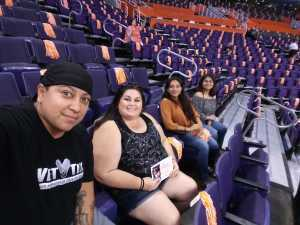 Christina attended Phoenix Mercury vs. Atlanta Dream - WNBA on Aug 16th 2019 via VetTix