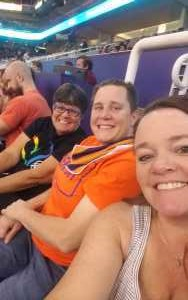 Corri attended Phoenix Mercury vs. Atlanta Dream - WNBA on Aug 16th 2019 via VetTix