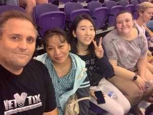 Bryon attended Phoenix Mercury vs. New York Liberty - WNBA on Aug 18th 2019 via VetTix