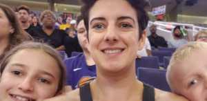 Natalie attended Phoenix Mercury vs. New York Liberty - WNBA on Aug 18th 2019 via VetTix