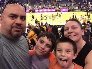 Francisco attended Phoenix Mercury vs. New York Liberty - WNBA on Aug 18th 2019 via VetTix