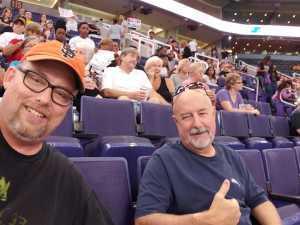 Randy attended Phoenix Mercury vs. New York Liberty - WNBA on Aug 18th 2019 via VetTix