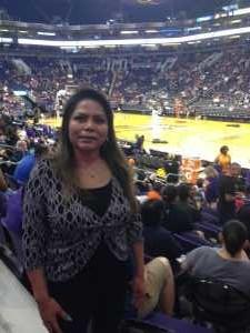 Janice attended Phoenix Mercury vs. New York Liberty - WNBA on Aug 18th 2019 via VetTix