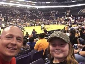 Jesse attended Phoenix Mercury vs. New York Liberty - WNBA on Aug 18th 2019 via VetTix