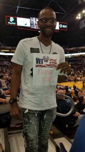Richard  attended Phoenix Mercury vs. New York Liberty - WNBA on Aug 18th 2019 via VetTix