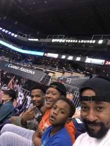 Justin attended Phoenix Mercury vs. New York Liberty - WNBA on Aug 18th 2019 via VetTix