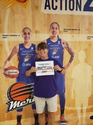 Robert attended Phoenix Mercury vs. New York Liberty - WNBA on Aug 18th 2019 via VetTix