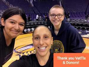 Ralph attended Phoenix Mercury vs. New York Liberty - WNBA on Aug 18th 2019 via VetTix