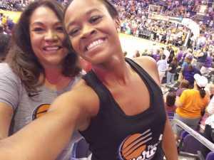 Linda attended Phoenix Mercury vs. New York Liberty - WNBA on Aug 18th 2019 via VetTix