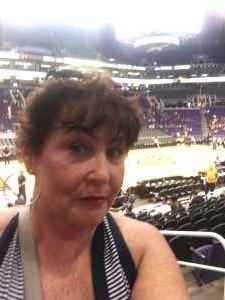 LYN attended Phoenix Mercury vs. New York Liberty - WNBA on Aug 18th 2019 via VetTix