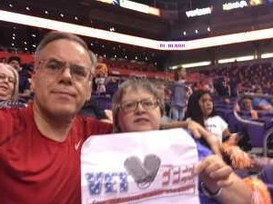 Richard attended Phoenix Mercury vs. Minnesota Lynx - WNBA on Sep 6th 2019 via VetTix