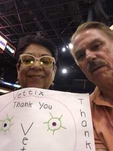 Charles attended Phoenix Mercury vs. Minnesota Lynx - WNBA on Sep 6th 2019 via VetTix