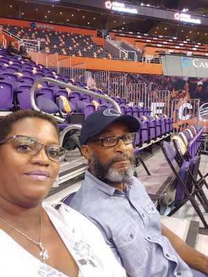 Tamara attended Phoenix Mercury vs. Minnesota Lynx - WNBA on Sep 6th 2019 via VetTix