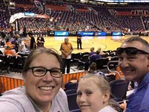 Michelle attended Phoenix Mercury vs. Minnesota Lynx - WNBA on Sep 6th 2019 via VetTix