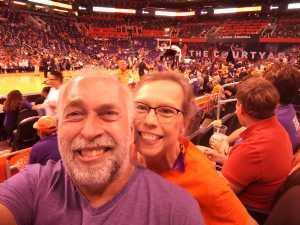 Bruce attended Phoenix Mercury vs. Minnesota Lynx - WNBA on Sep 6th 2019 via VetTix