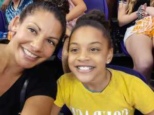 Rochelle attended Phoenix Mercury vs. Minnesota Lynx - WNBA on Sep 6th 2019 via VetTix