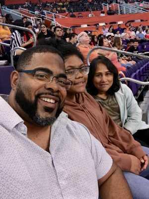 Gary attended Phoenix Mercury vs. Minnesota Lynx - WNBA on Sep 6th 2019 via VetTix