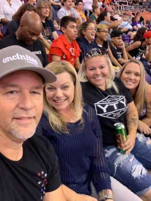 Austin attended Phoenix Mercury vs. Minnesota Lynx - WNBA on Sep 6th 2019 via VetTix