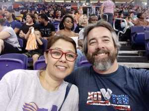Michael attended Phoenix Mercury vs. Minnesota Lynx - WNBA on Sep 6th 2019 via VetTix