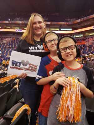 Calley attended Phoenix Mercury vs. Minnesota Lynx - WNBA on Sep 6th 2019 via VetTix