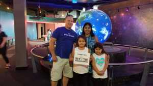 Brian attended Adventure Science Center Tickets on Aug 10th 2019 via VetTix