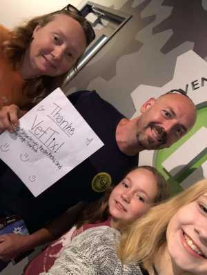 Kevin attended Adventure Science Center Tickets on Aug 10th 2019 via VetTix