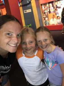 Erica attended Adventure Science Center Tickets on Aug 10th 2019 via VetTix