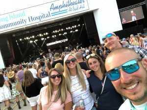 joseph attended Brett Eldredge - Country on Jul 27th 2019 via VetTix