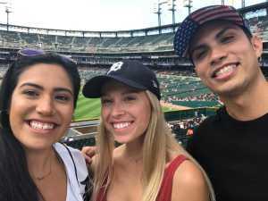 Samuel attended Detroit Tigers vs. Chicago White Sox - MLB on Aug 7th 2019 via VetTix