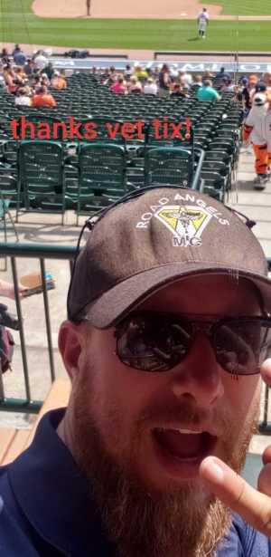 Nicholas attended Detroit Tigers vs. Chicago White Sox - MLB on Aug 7th 2019 via VetTix