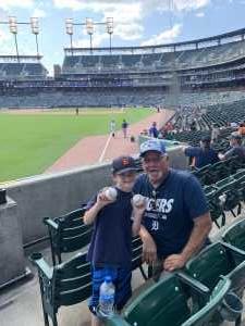 George Konieczny attended Detroit Tigers vs. Chicago White Sox - MLB on Aug 7th 2019 via VetTix