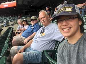 Jeff attended Detroit Tigers vs. Chicago White Sox - MLB on Aug 7th 2019 via VetTix
